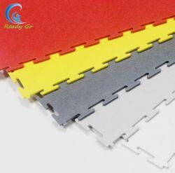 Materiale di rivestimento in PVC interbloccante pavimenti piastrelle per garage, piastrelle per magazzino