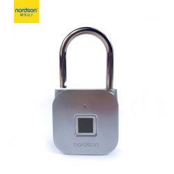 À prova de ligas de zinco carga USB Bag Armário Armário Inteligente sem chave cofre biométrico de cadeado de porta
