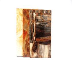 3003 Madeira e mármore Painel de parede em alumínio para parede decorativa