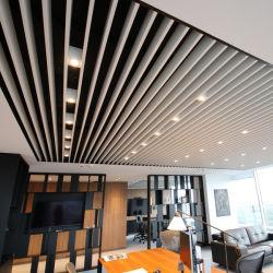 벤딩 알루미늄 금속 배플 벽 패널 외관 장식