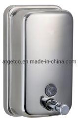 Großer Verkauf Haus und öffentliche Produkte Bad-Accessoires 304 Stainless Seifenspender Stahl 850ml (SD-680)