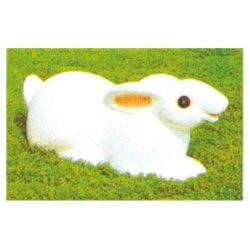 Dibujos animados Dibujos animados de conejo al aire libre de escultura para la venta de animales (HD-18910)