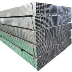 Q345 Gi сварной углерода для скрытых полостей оцинкованных труб прямоугольного сечения/50*25мм/75*50мм/квадратная стальная трубка для строительного материала