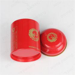 قصدير صندوق صاحب مصنع أحمر قصدير صندوق يخلو شاي وعاء صندوق