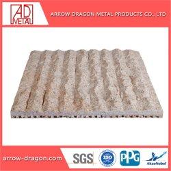 Piedra de granito Anti-Falling Panel de nido de abeja de aluminio para la Decoración de pared de cortina