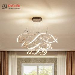 Les anneaux de gros de Zhongshan Lustre pour le projet Salle à manger