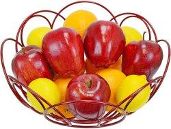كل ذلك في سلة فاكهة مبتكرة في وعاء تخزين وجبات خفيفة خضار فاكهة مطبخ عرض الطبق الزخرفي