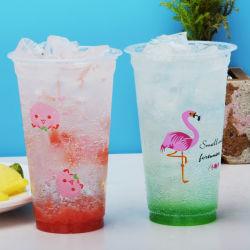 Creativas de alta calidad pudín desechables de plástico transparente hornear el pastel de postre decoración taza con tapa
