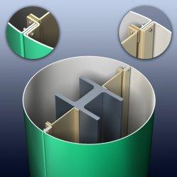 Panneau Composite Aluminium ACP MegaBond (K205 Flash Silver)