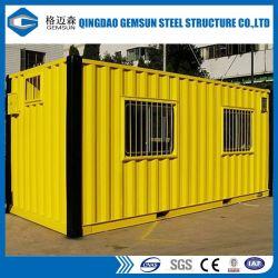 Bajo costo /Mobile/Prefabricados/contenedor prefabricado de la casa de la Oficina de contenedores
