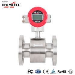 Medidor de flujo de agua digital Holykell Medidor de flujo electromagnético 4800