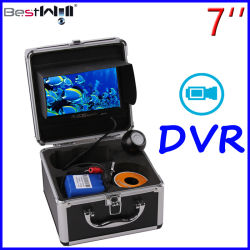 Telecamera subacquea monitor da 7'' DVR Video Recording 7p3