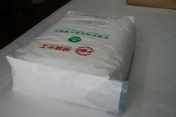 25kg bleu bloc de papier Kraft Sac vanne inférieure pour l'emballage
