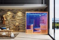 Trockene Sauna mit kanadischem Zeder-Holz für Familien-Gesundheit