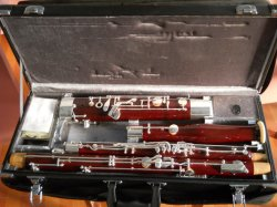 Red Color Bassoon / Woodwind instrument, gemaakt in China