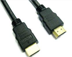 Cable HDMI versión 1.4 de alta velocidad de chapado en oro, Cable HDMI 3m, soporte de cable HDMI 1080p