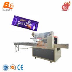 الشوغار الأفقي شريحة الشوكولاته الجرانولا بار الجرانولا بروتين بار Lollipop آلة التعبئة