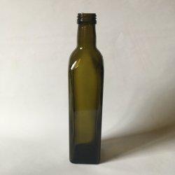 オリーブ油の飲料のびんのビール瓶の飲み物のびんの精神のびんのための500ml旧式な緑のびん