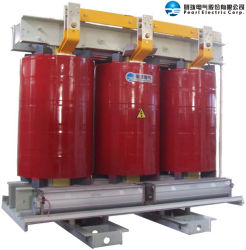 Driefasige droge transformator type SCB-3000 34,5 kv 60 Hz