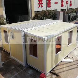 Temporaire de 20 pieds de l'acier de construction modulaire conteneur Pre-Fab Chambre pour la vie