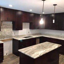 Castanho branco Preto Vermelho Verde Amarelo Prefab Granito grossista/Marble/ superfície sólida/ Banho laminado/cozinha/Quartz/bancadas de pedra natural