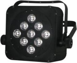 9*10W RGBW 4in1 LED multicolore Plat l'indicatore luminoso di PARITÀ con la batteria 5-6hours
