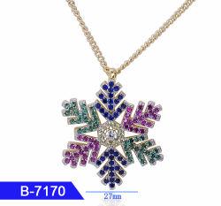 Kunstmatige Juwelen 925 van de Manier de Echte Tegenhanger van het Zirkoon van het Zilver of van het Messing voor Vrouwen
