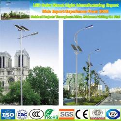 Haute puissance 30W 40W 50W Module photovoltaïque solaire LED Street Light Street Lumière avec WiFi Smart Rue lumière solaire caméra cachée