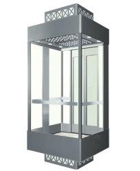 Los pasajeros de transporte de mercancías de Observación de la casa de cristal Villa ascensor