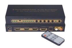 Estrattore HDMI Switcher&Splitter delle porte di Mealink HDMI 3 audio