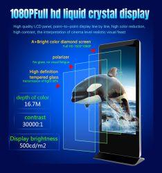 43 インチ LCD ディスプレイスタンドアロンデジタルサイネージ超薄型広告機 液晶ディスプレイ専門液晶広告機液晶ディスプレイユニット