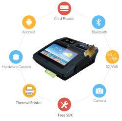 9.7 il sistema Android Cashless del lettore dello schermo di tocco di pollice NFC riempie la posizione della scheda di RFID