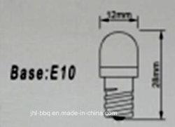 E10 LED BA9s 2835Máquinas de lâmpada de freio automático SMD lâmpada LED para máquina de jogos e Máquinas Recreativas durável Anticolisão Anti-Choque