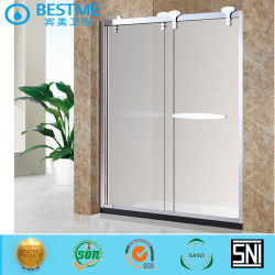 Foshan Bestme Banho sanitárias 304 Ss Chuveiro Porta Corrediça Ga-311