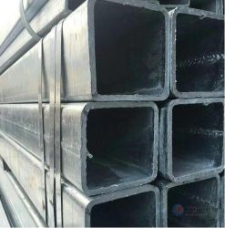 Restes explosifs des guerres laminés à chaud en acier noir carré tuyau Tuyau en acier au carbone galvanisé