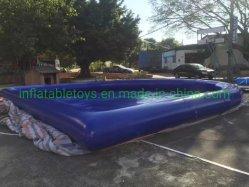 Parque de Atracciones inflables plaza grande y redonda piscina inflable