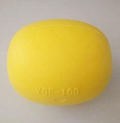 Yqe-100黄色いカラーエヴァの泡釣は釣り道具のために浮かぶ