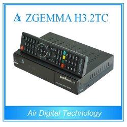Super горячая продажа Zgemma H3.2tc спутникового или кабельного ресивера Linux OS Enigma2 DVB-S2 + 2xdvb-T2/C с двумя тюнерами