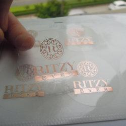 Eco-Friendly 광택 있는 박판 접착성 비닐 공간 레이블