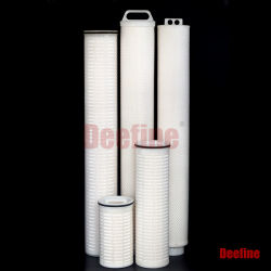 급수정화 Cuno Pall 또는 Pentair 보충을%s 높은 교류 물 카트리지 필터