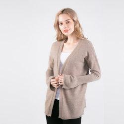 Neues Muster Hesita - 90% Ultrafine Merinowolle-und (Maschine waschbar) der gemischten Frauen 10%Cashmere Strickwaren-Wolljacke
