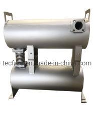 Generador de aluminio, poner el motor el silenciador