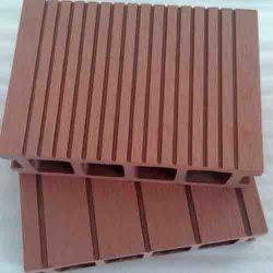 De houten Plastic Samengestelde Raad van de Bevloering van Decking WPC voor OpenluchtTuin