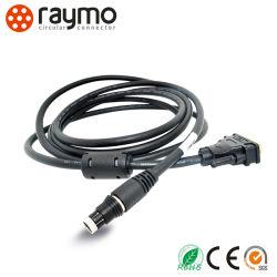 Fischer 102 avec connecteur série DB9 Montage du câble audio vidéo