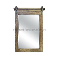 Estilo antiguo hogar colgantes decorativos enmarcado espejo de pared