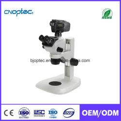 Bijoux portable zoom microscope stéréo numérique pour des microscopes optiques