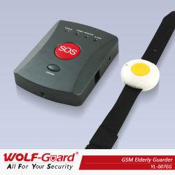 Alarme d'urgence GSM avec bracelet Bouton panique
