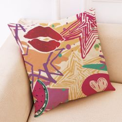 Almohada personalizada con diseño exclusivo.