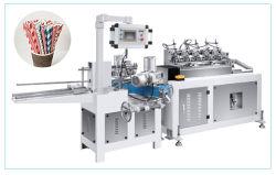 Het Stro die van de Buis van het document Lijn/Document maken het Stro van de Koffie melken Machine/Kleurrijk Document die Makend het Drinken het Document maken die van het Stro de Apparatuur van de Machine maken