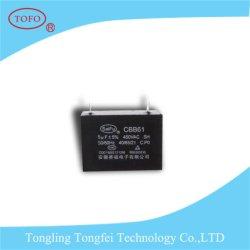 Cbb61 11UF 350VCA Condensateur pour générateur de gros en usine